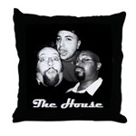 The House Writer's Room Throw Pillow