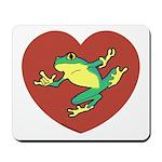 ASL Frog in Heart Mousepad