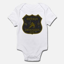 Mailman Ninja League Infant Bodysuit