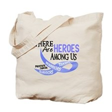 Heroes Among Us PROSTATE CANCER Tote Bag