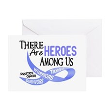 Heroes Among Us PROSTATE CANCER Greeting Card