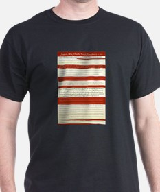 Obama's Inaugural Address in Vintage Script T-Shirt