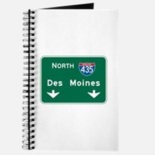Des Moines, IA Highway Sign Journal