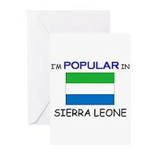 I'm Popular In SIERRA LEONE Greeting Cards (Pk of