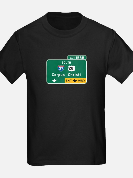 Corpus Christi, TX Highway Sign T