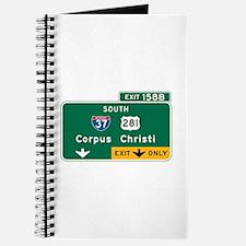 Corpus Christi, TX Highway Sign Journal