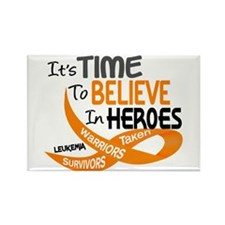 Time To Believe LEUKEMIA Rectangle Magnet