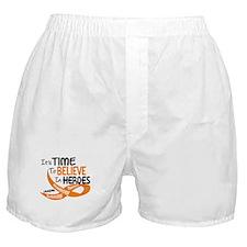 Time To Believe LEUKEMIA Boxer Shorts