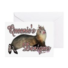 Queenie's Designs Greeting Cards (Pk of 10)