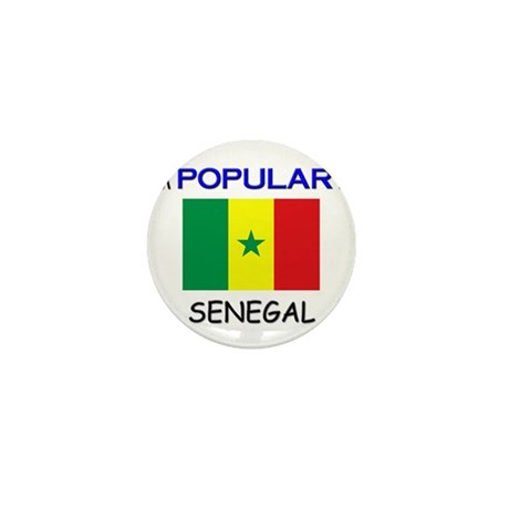 I'm Popular In SENEGAL Mini Button (10 pack)