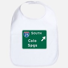 Colorado Springs, CO Highway Sign Bib