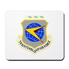 22nd Air Force Mousepad