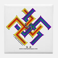 Moresque #6 - Tile Coaster