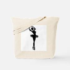 Dancing Ballerina Tote Bag