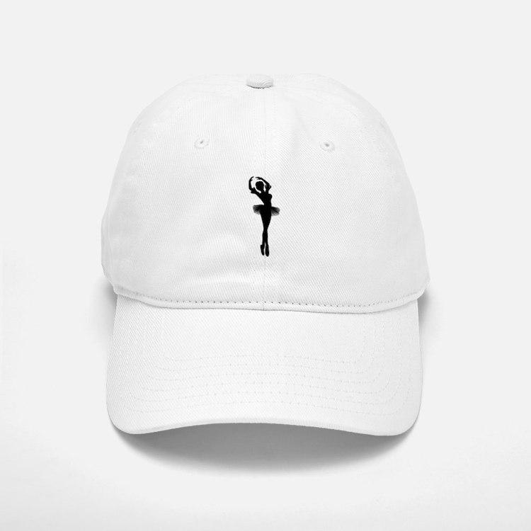 Dancing Ballerina Baseball Baseball Cap