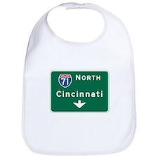 Cincinnati, OH Highway Sign Bib