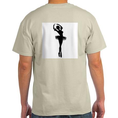 Dancing Ballerina Ash Grey T-Shirt