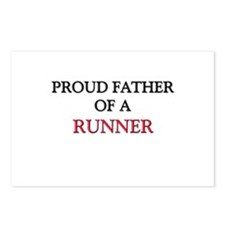Proud Father Of A RUNNER Postcards (Package of 8)
