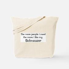 I like my Schnauzer Tote Bag