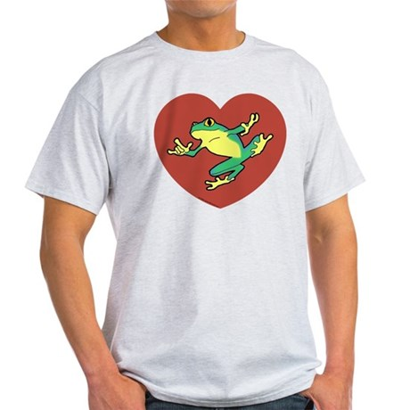 ASL Frog in Heart Light T-Shirt