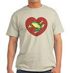ASL Frog in Heart Light T-Shirt