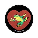 ASL Frog in Heart Black 3.5