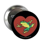 ASL Frog in Heart Black 2.25