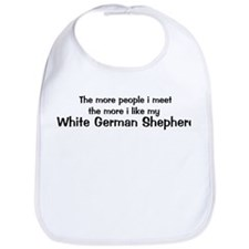 I like my White German Shephe Bib