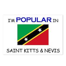 I'm Popular In SAINT KITTS & NEVIS Postcards (Pack