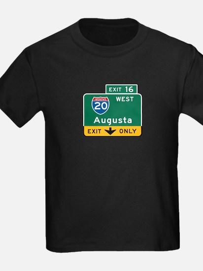 Augusta, GA Highway Sign T