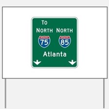 Freeway to Atlanta sign stock vector. Illustration of ...