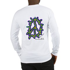 Amoeba Peace - Long Sleeve T-Shirt