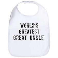 Worlds Greatest Great Uncle Bib