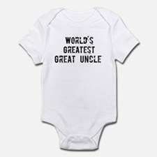 Worlds Greatest Great Uncle Infant Bodysuit