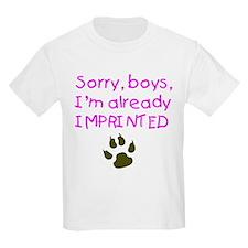 SorryImprinted T-Shirt