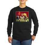 House Puppets Long Sleeve Dark T-Shirt