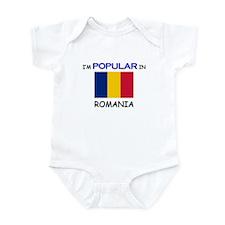 I'm Popular In ROMANIA Infant Bodysuit