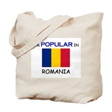 I'm Popular In ROMANIA Tote Bag