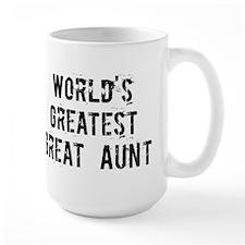 Worlds Greatest Great Aunt Mug