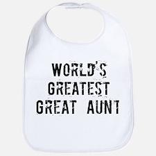 Worlds Greatest Great Aunt Bib