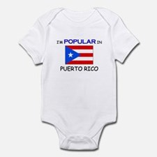 I'm Popular In PUERTO RICO Infant Bodysuit