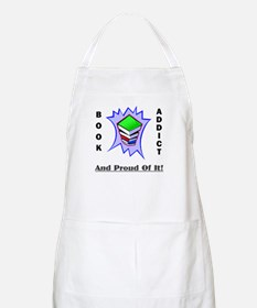 Book Addict (and proud of it) BBQ Apron