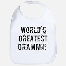 Worlds Greatest Grammie Bib