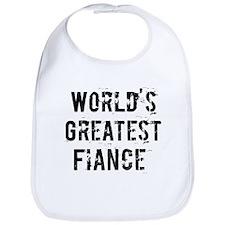Worlds Greatest Fiance Bib