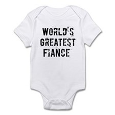 Worlds Greatest Fiance Infant Bodysuit