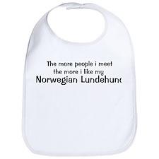 I like my Norwegian Lundehund Bib