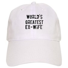 Worlds Greatest Ex-Wife Baseball Cap