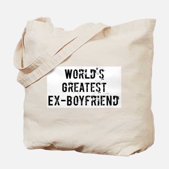 Worlds Greatest Ex-Boyfriend Tote Bag