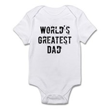Worlds Greatest Dad Infant Bodysuit