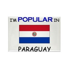 I'm Popular In PARAGUAY Rectangle Magnet